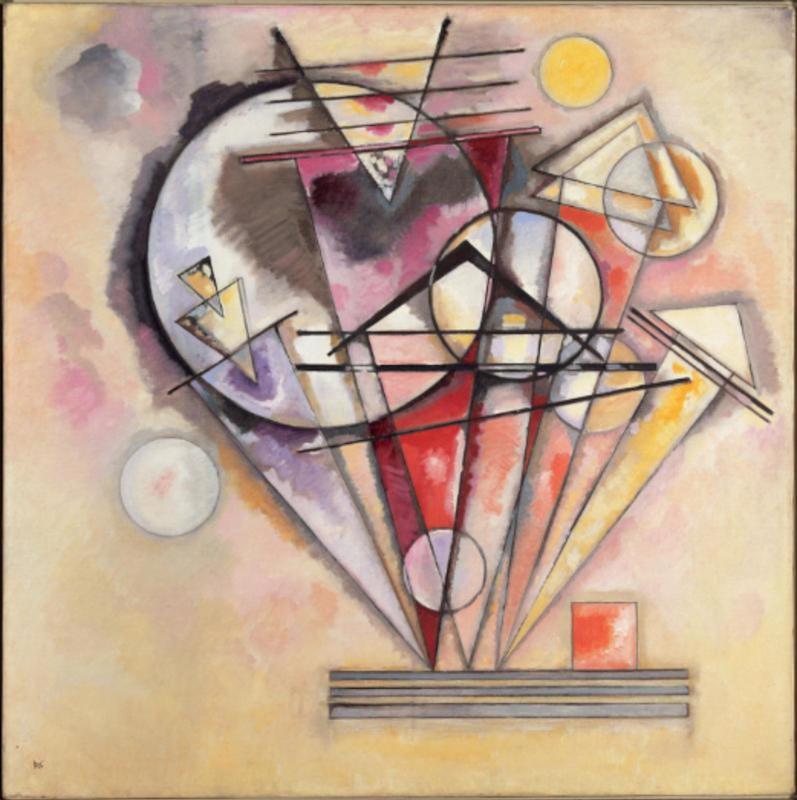 A picture of Vassily Kandinsky Auf Spitzen, 1928