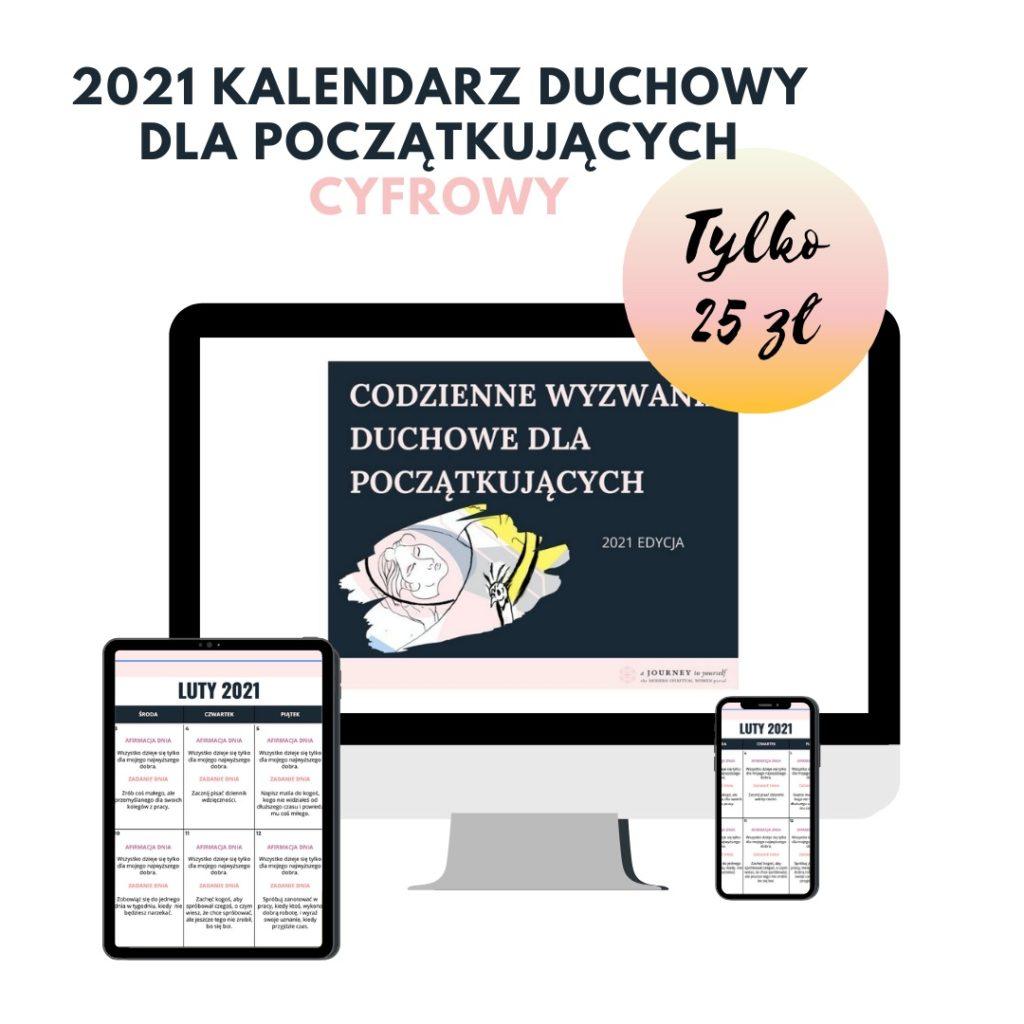 Reklama cyfrowego kalendarza duchowego