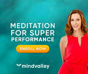 Mindvalley The M Word program  advertisement.