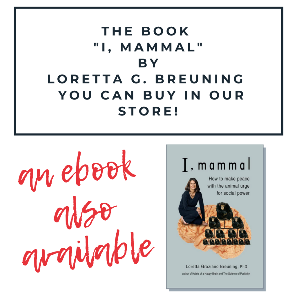 "Advertising banner of Loretta's book ""I, Mammal""."