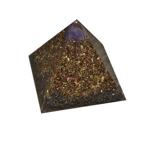 A picture of orgonite.