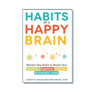 """Okładka książki """"Habits of a Happy Brain"""""""