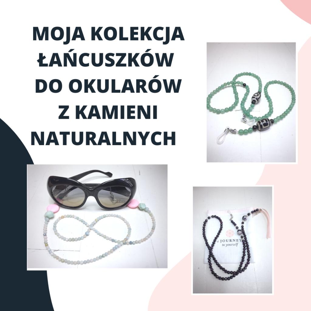 Łańcuszek do okularów reklama