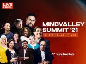 ▲ Advertising banner Mindvalley