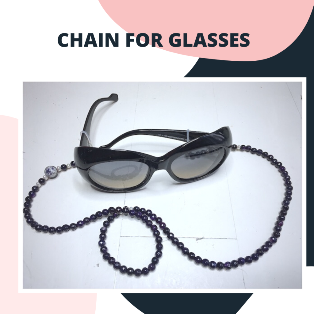 Advertising of glasses chains.