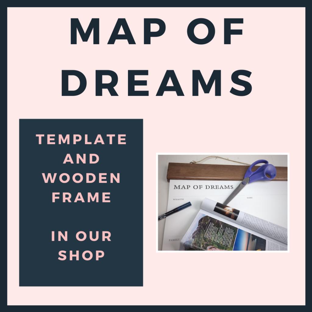Map of dreams advertising.