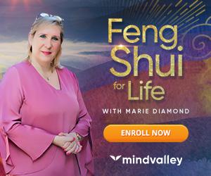 Mindvalley Feng Shui program ad.